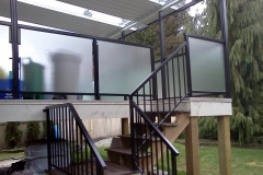 coquitlam glass railings privacy