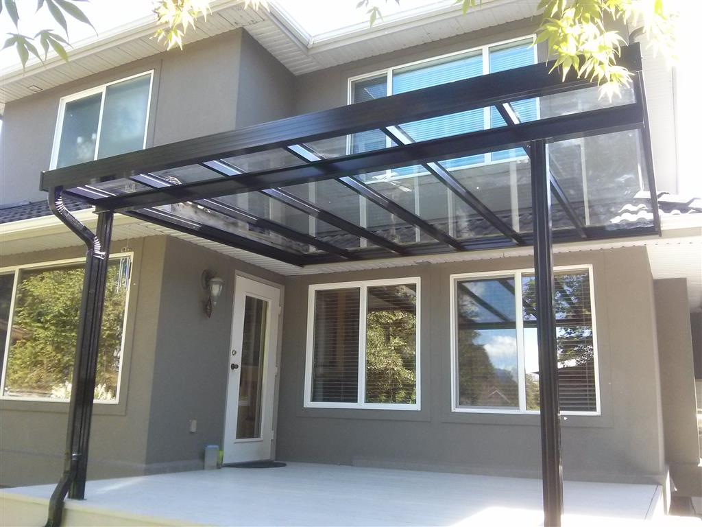 Maple Ridge Glass Patio Cover