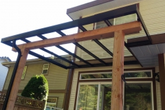aluminium glass patio cover