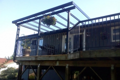 langley glass and aluminium patio cover