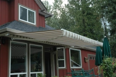 awning maple ridge retractable