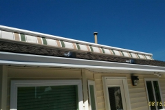 fabric retactable awning roof mount