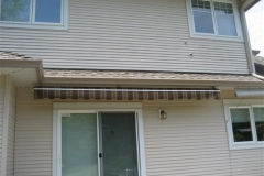 fabric retractable awning langley