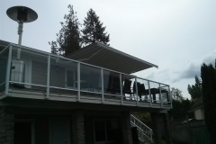 langley awning retactable over deck