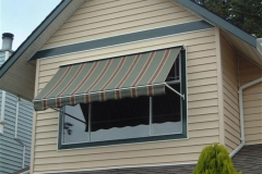retactable window awning