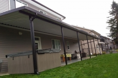 aluminium-patio-cover-abbotsford-over-hot-tub