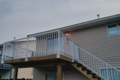 aluminium railings fascia