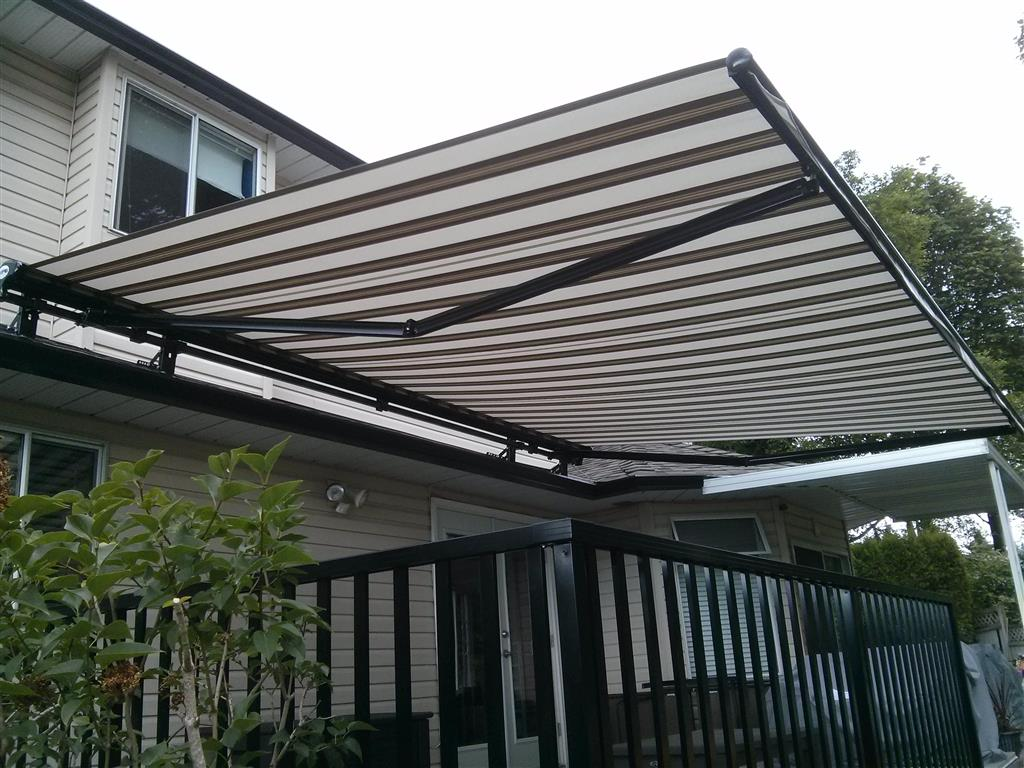 Frabric Retactable Awning Surrey Bc