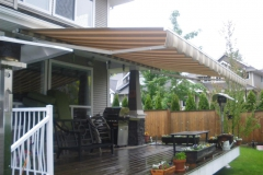 retactable awning soffit install Chilliwack