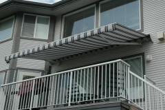 retactable fabric awning maple ridge
